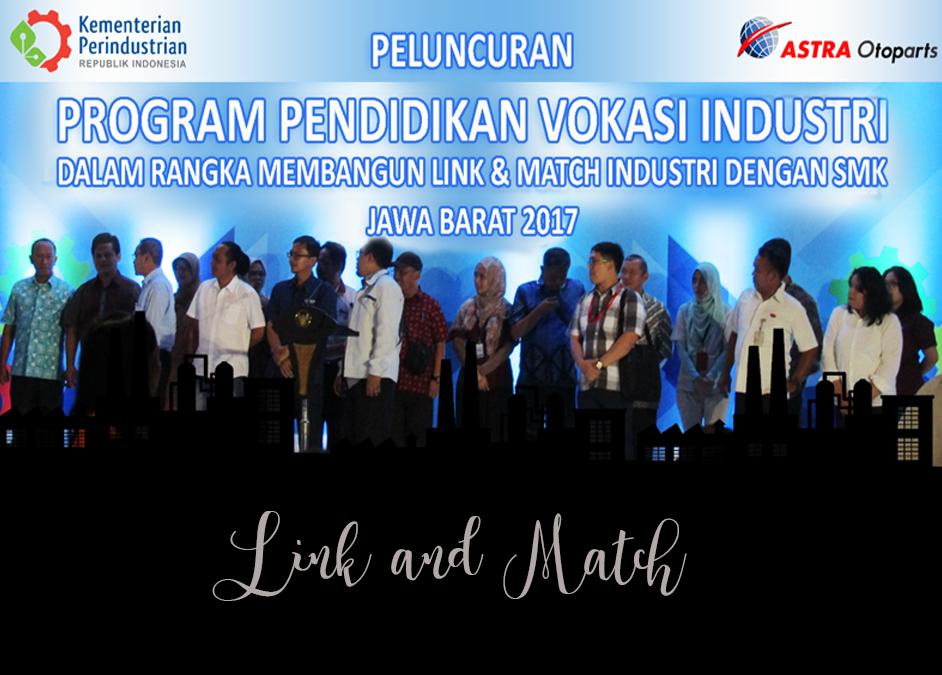 Peluncuran Program Pendidikan Vokasi Industri di Jawa Barat, Kemenperin 2017