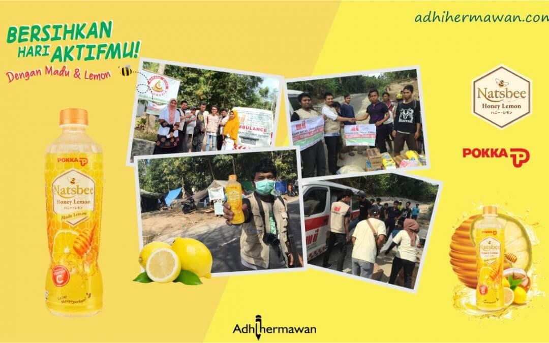 Jadi Relawan Aktif #AsikTanpaToxic bersama Natsbee Honey Lemon